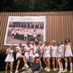 Cadillac ladies tennis cup